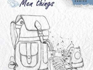 CSMT009 Nellie Snellen Clearstamps - Men Things - Backpack & Shoes-0