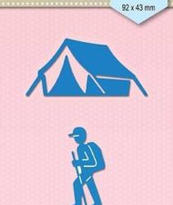 SDB047 Nellie Snellen Die Shape Die Blue - Backpack Camping-0