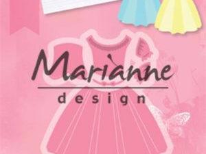 COL1452 Marianne Design Die Collectables, Dress-0
