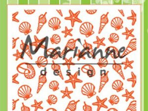 DF3448 Marianne Design, Emb.folder, Sea Shells-0