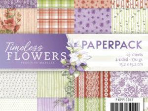 PMPP10018 Precious Marieke Papirsblok Timeless Flowers-0