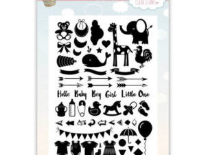 YCCS10040 Yvonne Design Stempel Welcome Baby-0