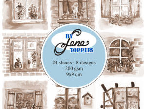 BLT002 By Lene Toppers, Windows Sepia-0