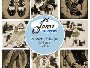 BLT004 By Lene Toppers, Dance Sepia-0