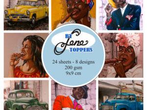 BLT005 By Lene Toppers, Retro i farver-0