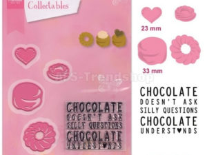 COL1365 Marianne Design Die Collectales, Chocolate-0