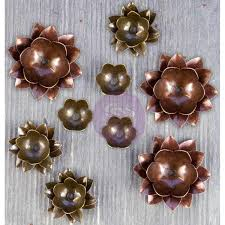 964382 Prima Marketing Metalpynt, blomster-0