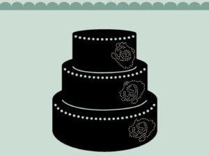 MDL004 Dixi Craft Die Wedding Cake-0