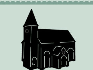 MDL005 Dixi Craft Die Church-0