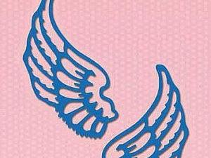 SDB061 Nellie Snellen Die Shape Die Blue - Wings-0