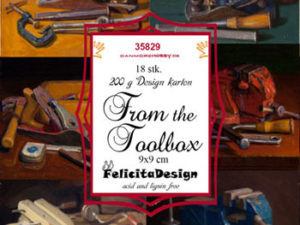 35829 Felicita Design Toppers 9x9cm From The Toolbox-0