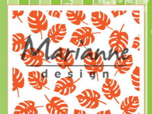 DF3449 Marianne Design, Emb.folder, Tropical Leaves-0