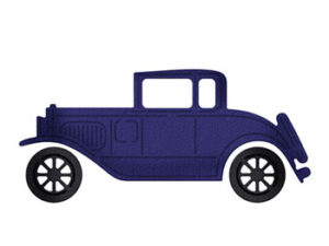 CC-470 Cottage Cutz Die Classic Car-0