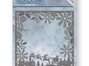 JAD10041 Jeanine`s Art Die Frosty Ornament, Frosty Frame-0
