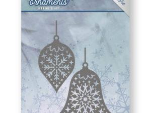 JAD10043 Jeanine`s Art Die Frosty Ornament, Christmas Baubles-0