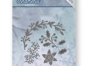 JAD10049 Jeanine`s Art Die Frosty Ornament, Christmas Branches-0