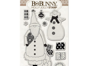 12105768 Bo Bonny stempel, Holly Jolly Clear Stamps -0
