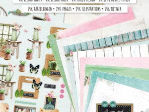 PAPERBLOCKLH01 Studiolight Blok A4 Love & Home-0