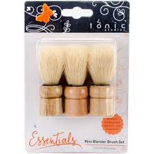 1558E Tonic Studios, Mini Blender Brush Set-0
