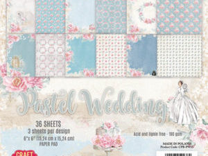 CPB-PW15 Craft & You Papirblok Pastel Wedding-0