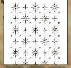 THMST031 Tim Holtz Stampers Anonymous Stencil Mini Stencil Set #31-0