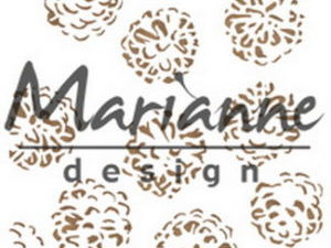 PS8010 Marianne Design Mask Stencil, Tiny's Pine Cones-0