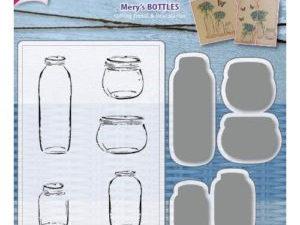 6004/0030 JOY Die Cut/Stamp Mery's Bottles-0
