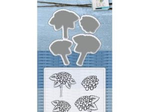 6004/0031 JOY Die Cut/Stamp Mery's Hydrangeas-0