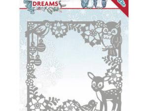 YCD10140 Yvonne Design Die Christmas Dreams, Christmas Animal Frame-0