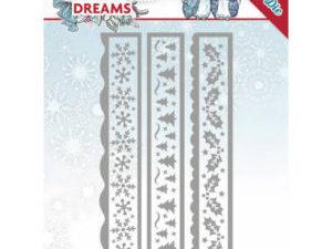 YCD10141 Yvonne Design Die Christmas Dreams, Christmas Borders-0