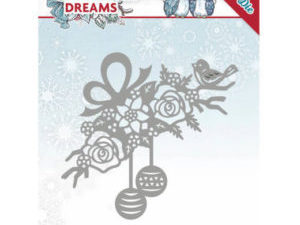 YCD10146 Yvonne Design Die Christmas Dreams, Bauble Ornament-0