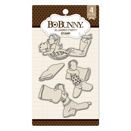 12105291 Bo Bonny stempel, Slumber Party Clear Stamps -0