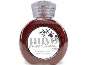 "700N Nuvo Pure Sheen Glitter 100ml ""Ruby Red"" -0"