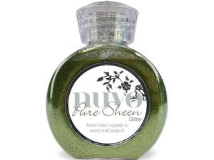 "701N Nuvo Pure Sheen Glitter 100ml ""Green""-0"