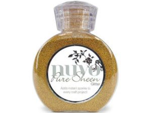 "703N Nuvo Pure Sheen Glitter 100ml ""Gold""-0"