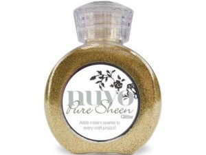 "707N Nuvo Pure Sheen Glitter 100ml ""Light Gold""-0"