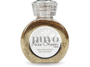 "718N Nuvo Pure Sheen Glitter 100ml ""Rose Gold""-0"