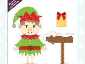 CEDLH1039 Creative Expressions Lisa Horton Die Stitched Collection, Cheeky Elf-0