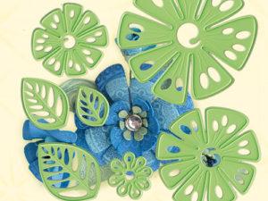 45.5336 Leane Creatief Die Cut/emb Fantasy Flower-0