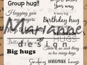 CS1011 Marianne Design Stempel, Hugs UK-0