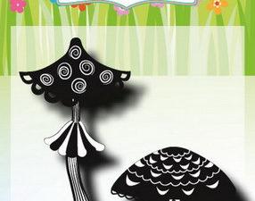 6410/0492 JOY Clearstamp Mushrooms-0