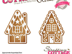 CCE-514 Cottage Cutz Die Gingerbread House Mini's-0