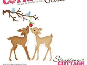 CC-486 Cottage Cutz Die Christmas Fawns-0