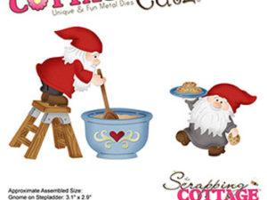 CC-483 Cottage Cutz Die Baking Gnomes-0
