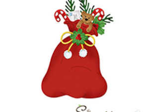 CC-509 Cottage Cutz Die Santas's Bag-0
