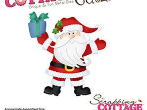 CC-499 Cottage Cutz Die Jolly Santa Claus-0