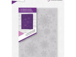 "GEM-EF5-3D-SHIMS Crafter's Companion 3D Embossingfolder ""Shimmering Snowflakes"" -0"