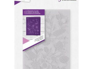 "GEM-EF5-3D-PP Crafter's Companion 3D Embossingfolder ""Pinecone Piethora""-0"
