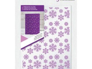 "GEM-EF5-SPARKS Crafter's Companion Embossingfolder ""Sparkling Snowflakes""-0"