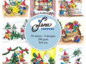 BLT009 By Lene Toppers, Elves & Gnomes farver-0